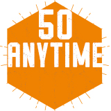 50 Anytime